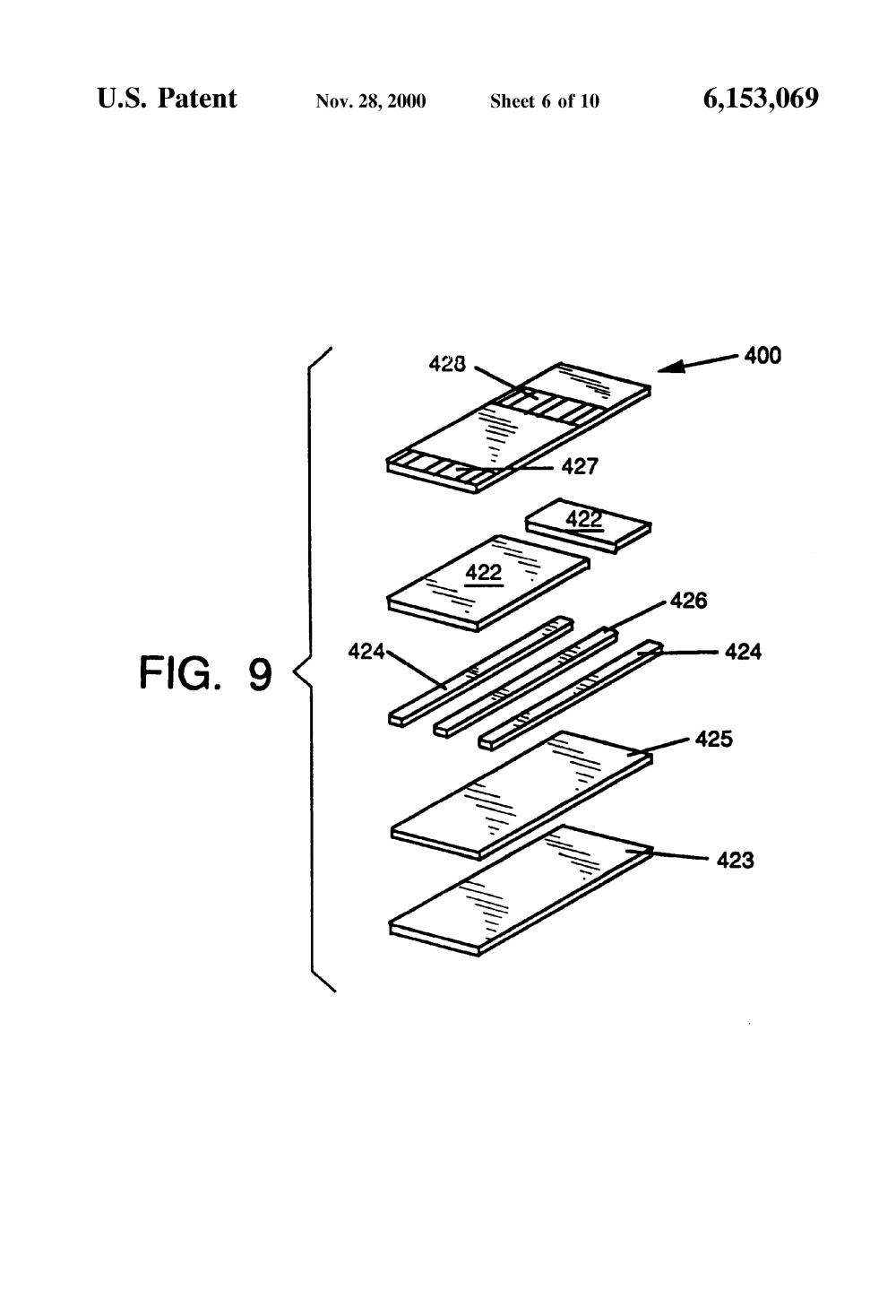 medium resolution of us6153069 6 patent us6153069 apparatus for amperometric diagnostic analysis webasto sunroof wiring diagram