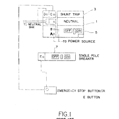 Shunt Resistor Wiring Diagram 1997 Lexus Es300 Engine Patent Us6157096 Neutral Switched Trip Emergency