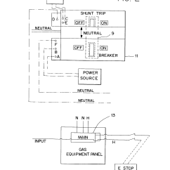 Ansul System Relay 2001 Ford Escape Fuse Box Diagram Shunt Trip Breaker Schematic Exhaust Fan Get Free Image