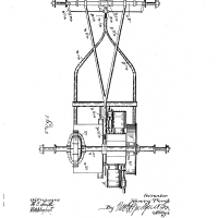 Henry Ford Random Patents #5 Motor-carriage. US 686046 A
