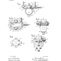 Henry Ford Random Patents #7 US 769734 A Chain adjustment for motor-vehicles.