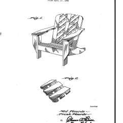 Chair Design Patent Genuine Leather Dining Chairs Melbourne Usd148391 For A Lawn Google Patents