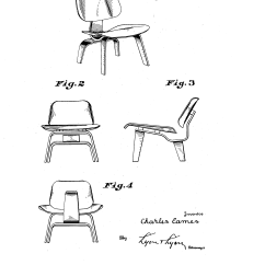 Chair Design Patent All Modern White Dining Chairs Patente Usd150683 For A Google Patentes