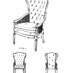 Chair Design Patent High End Usd254223 Google Patents