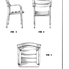 Chair Design Patent Coca Cola Table And Chairs Usd259078 Lawn Google Patents
