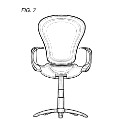 Swivel Chair Inventor Victorian Balloon Patent Usd395962 Office Especially For