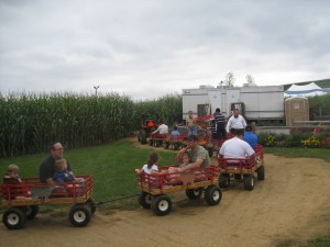 for those tired of the corn maze, they have other small rides