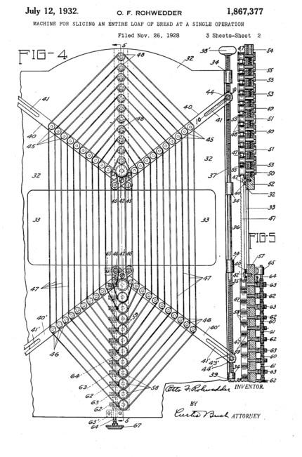 Sliced Bread Patent Information