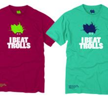 I Beat Trolls t-shirt