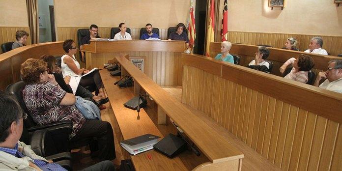 Imagen de la reunión de la mesa de la Solidaridad