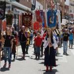 Instante de uno de los desfiles del Mig Any