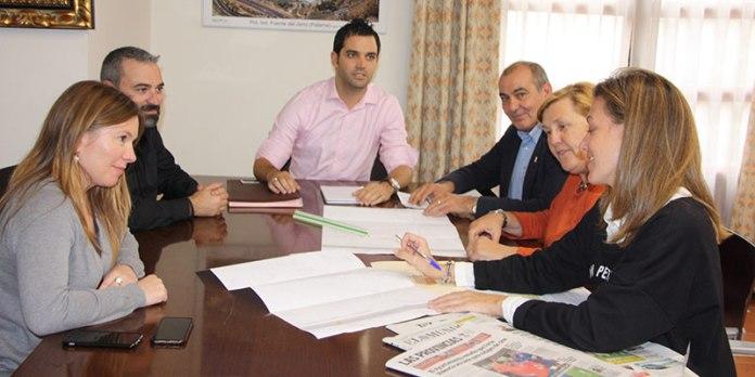 Reunión del equipo de Gobierno de Paterna
