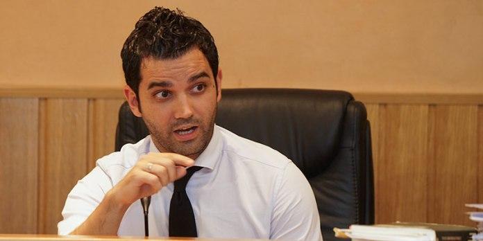 El alcalde, Juan Antonio Sagredo durante un pleno