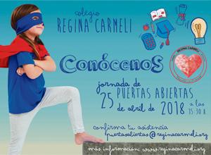 Jornada de puertas Abierta Colegio Regina Carmeli