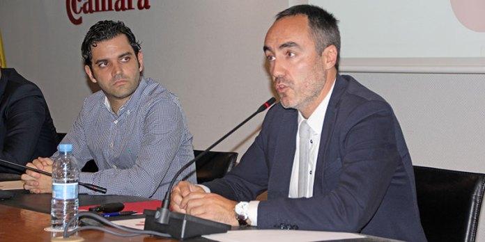 """Sagredo durante la jornada """"Industria conectada 4.0: la transformación digital de la industria española"""""""