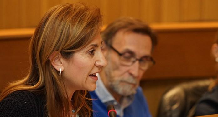 La portavoz popular María Villajos