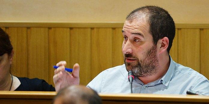 El consejero de Aguas de Paterna y concejal de Comprimís, Corles Martí