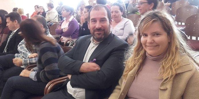 Carles Martí y Neus Herrero, concejales de Compromís