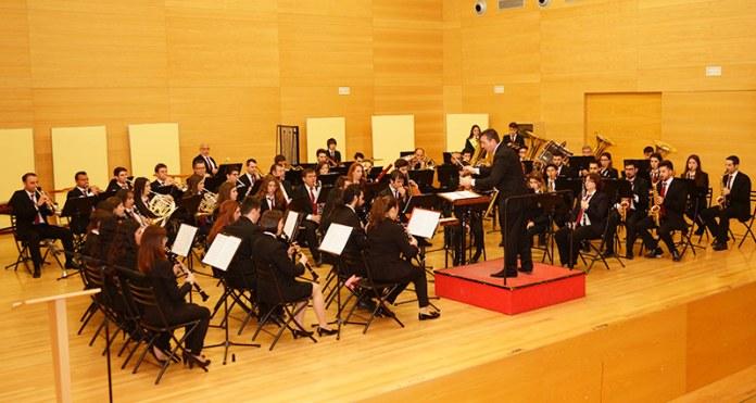 Instante del Concierto de la Banda Sinfónica del Centro Musical Paternense