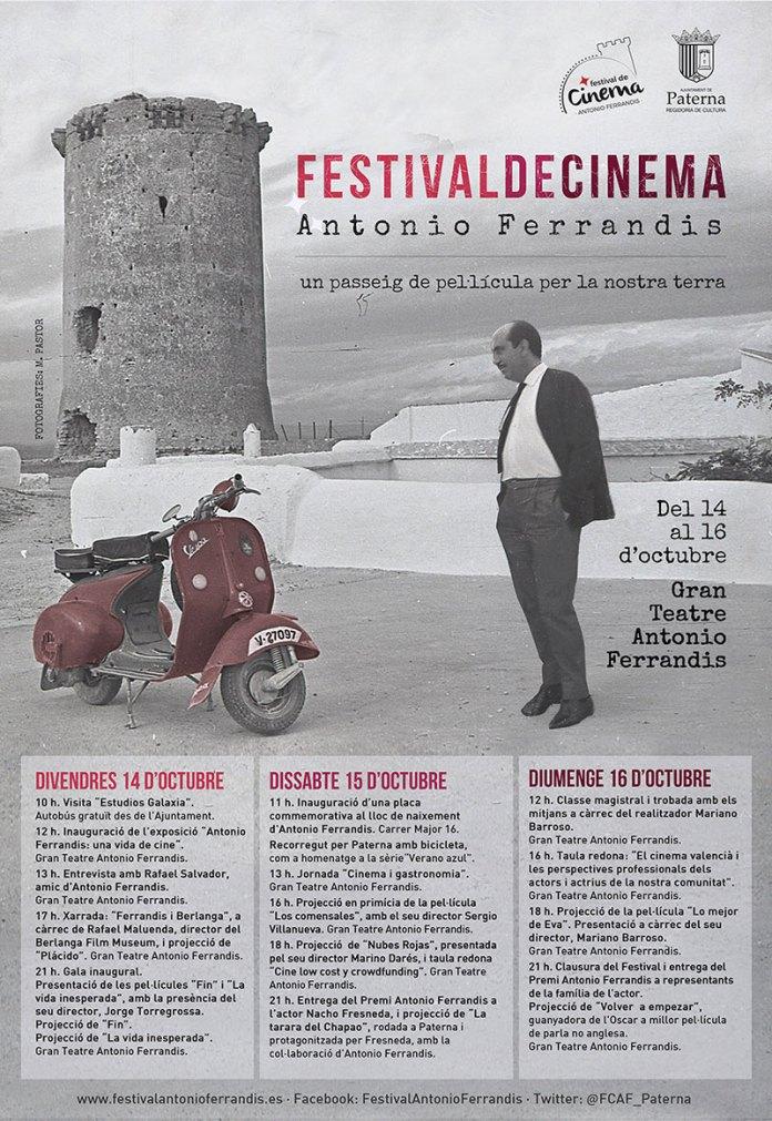 Programa Festival de Cine Antonio Ferrandis