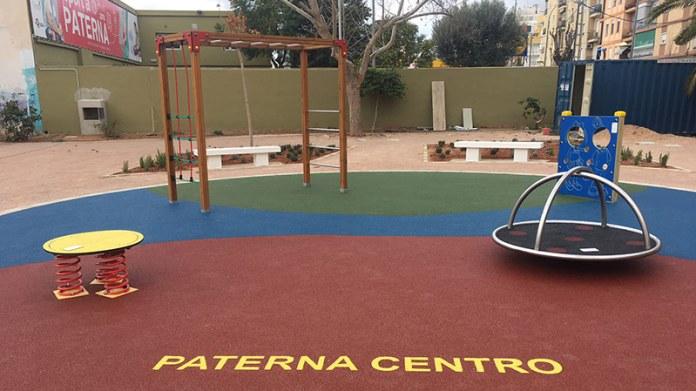 Nuevo aspecto del parque Cristo de la Fe