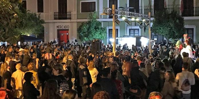 Uno de los actos celebrados en Paterna con motivo de la celebración de Halloween