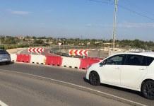 Foto del vial cortado de acceso a L'Andana
