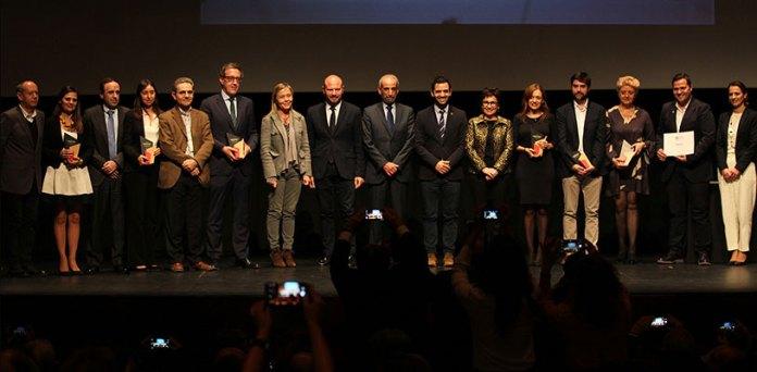 Ganadores de los Premios Paterna Ciudad de Empresas 2017