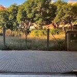 Parcela donde se ubicará el parking en Lloma Llarga