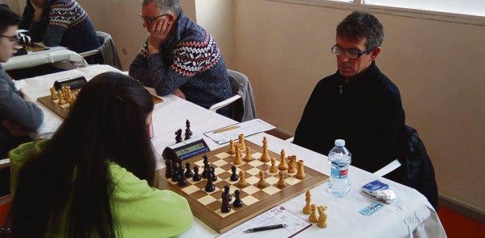 Imagen del pasado encuentro entre Club Ajedrez Andreu Paterna y Enric Valor de Alicante