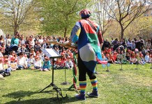 Instante de la segunda edición de Gira Barrios en Lloma Llarga