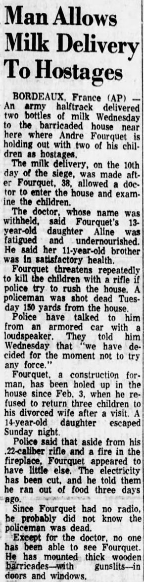 The Shreveport Times, vol. 98, nº 78, 13/02/1969, p. 11-A
