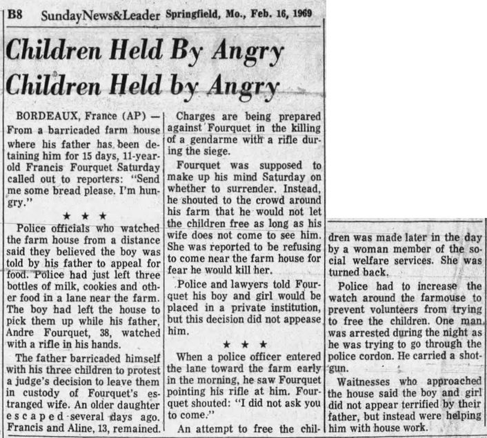 Sunday News & Leader, vol. 40, nº 40, 16/02/1969, p. B8