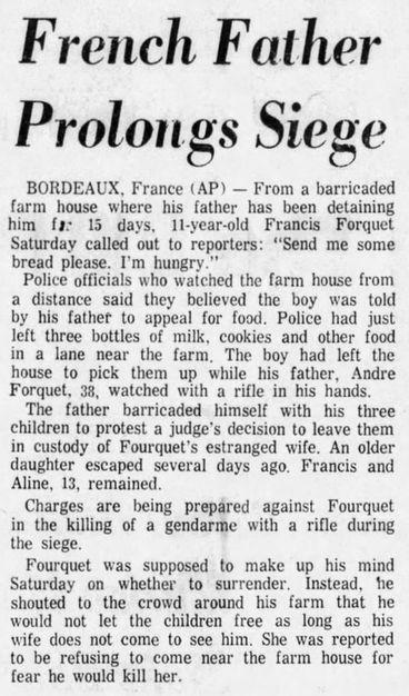 Sunday Telegram, vol. 93, nº 41, 16 février 1969, p. 1