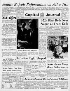 Capital Journal, nº 41, 17/02/1969, p. 1