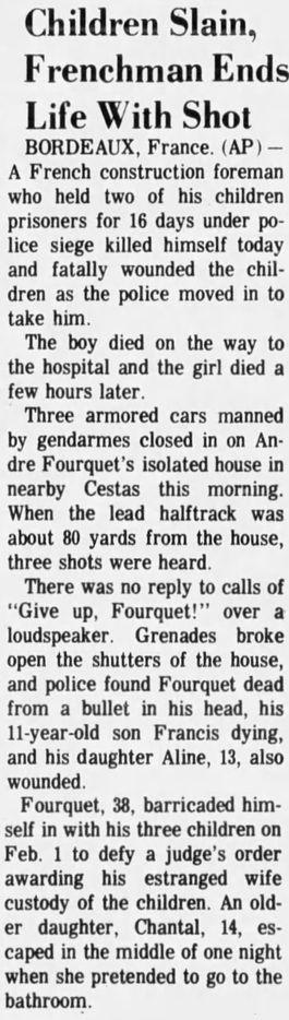 Fremont News-Messenger, vol. 113, nº 262, 17/02/1969, p. 1