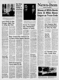 News-Item, vol. 1, nº 117, 17 février 1969, p. 1