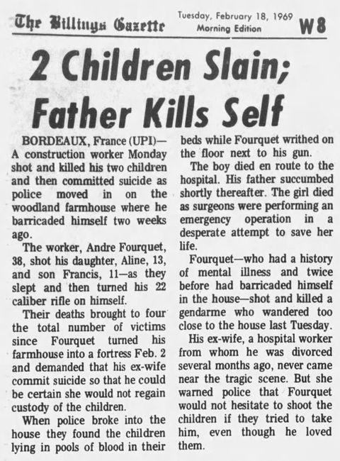 The Billings Gazette, nº 276, 18/02/1969, p. W8