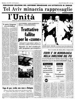 L'Unità, nº 49, 20/02/1969, p. 1
