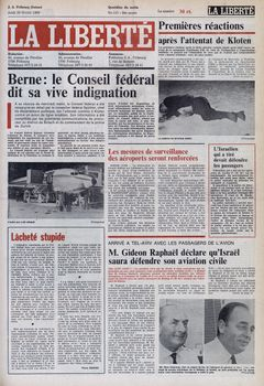 La Liberté, nº 117, 20/02/1969, p. 1