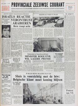 Provinciale Zeeuwse Courant, nº 42, 20 février 1969, p. 1