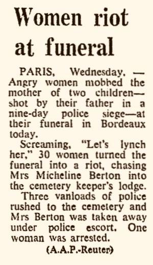 The Sydney Morning Herald, nº 40929, 20/02/1969, p. 1