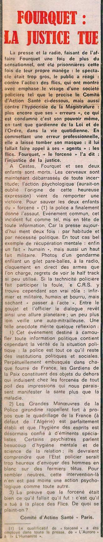 Action, nº 39, 21 février 1969, p. 8