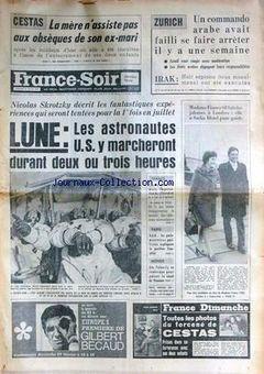 France-Soir, 21/02/1969, p. 1
