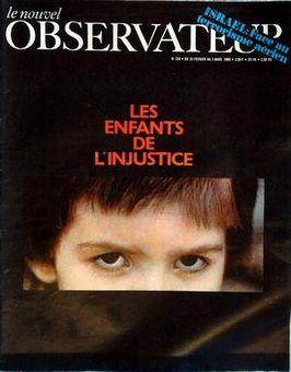 Le Nouvel Observateur, nº 224, 24/02/1969, p. 1