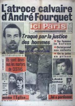 Ici Paris, nº 1235, 25/02/1969, p. 1