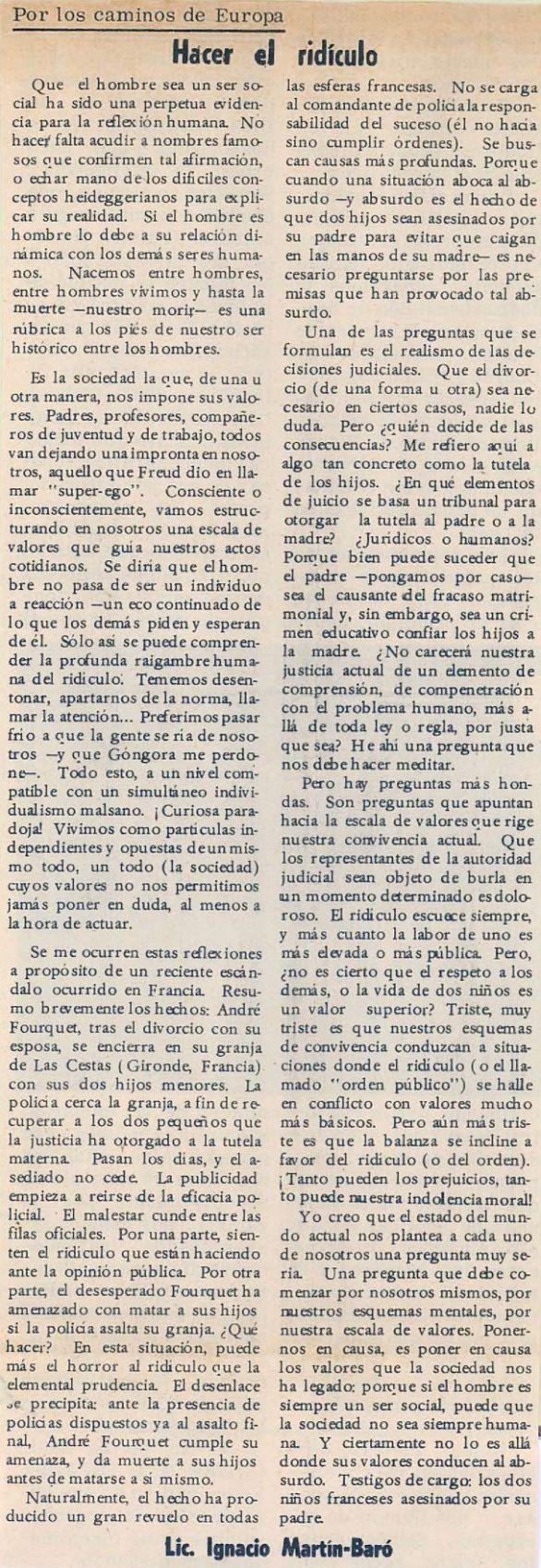 El Mundo, 27/02/1969