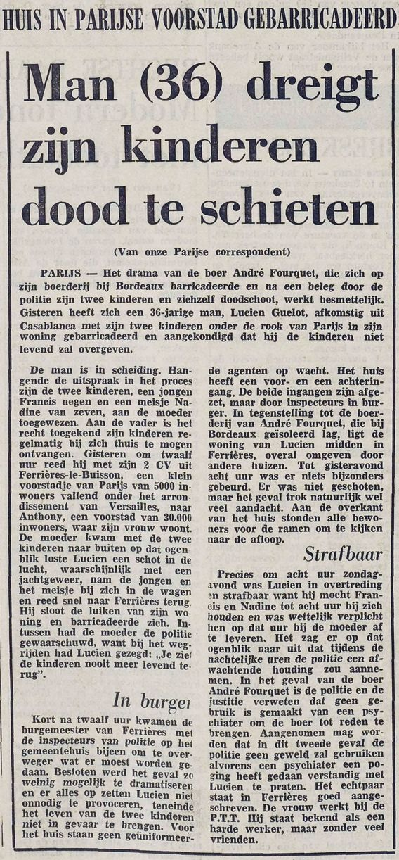 De Stem, nº 26071, 17/03/1969, p. 1