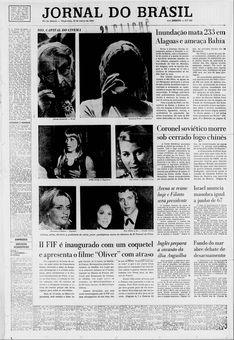 Jornal do Brasil, nº 289, 18/03/1969, p. 1