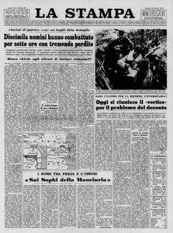 La Stampa, nº 64, 18/03/1969, p. 1